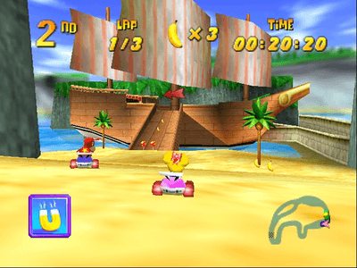 Nintendo 64 Screenshot Diddy Kong Racing