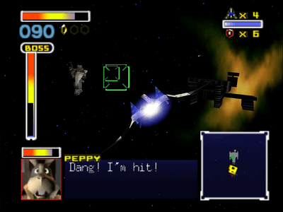 Nintendo 64 Screenshot Lylatwars