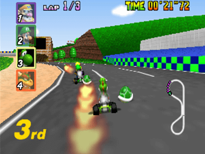 Nintendo 64 Screenshot Mario Kart 64