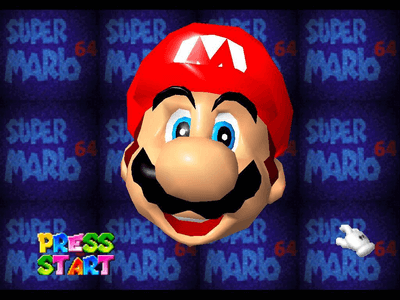 Nintendo 64 Screenshot Super Mario 64