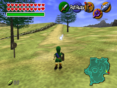 Nintendo 64 Screenshot The Legend of Zelda Ocarina of Time