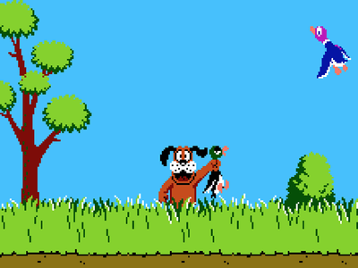 Super Nintendo SNES Screenshot Duck Hunt