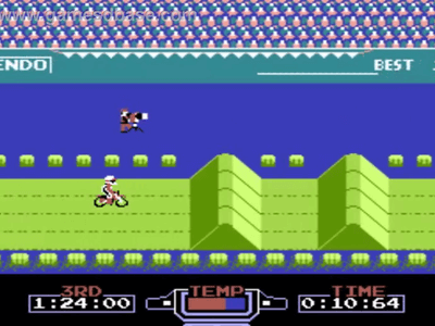Super Nintendo SNES Screenshot Excitebike