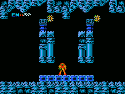 Super Nintendo SNES Screenshot Metroid