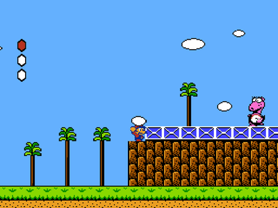 Super Nintendo SNES Screenshot Super Mario Bros 2