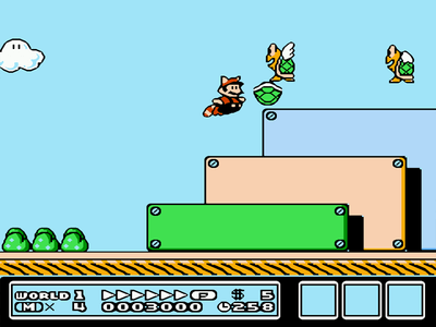 Super Nintendo SNES Screenshot Super Mario Bros 3