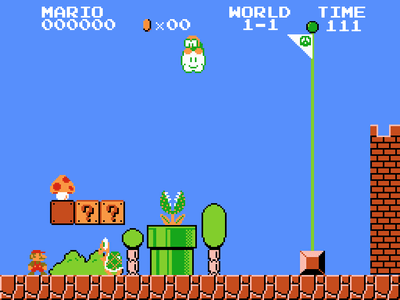 Super Nintendo SNES Screenshot Super Mario Bros