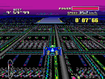 Super Nintendo SNES Screenshot F-Zero