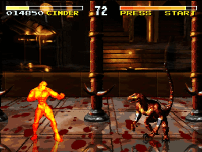 Super Nintendo SNES Screenshot Killer Instinct