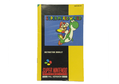 Super Nintendo Manuals
