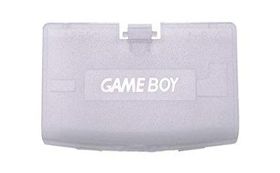 Game Boy Advance Battery Cover (Transparent Blue)
