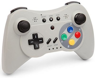 Nieuwe Wii U Pro Controller SNES Edition