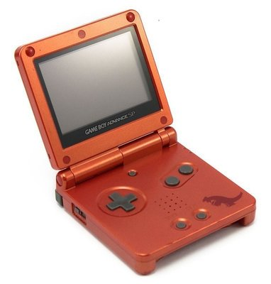 Gameboy Advance SP Pokemon Groudon Edition