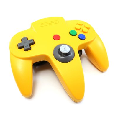 Originele Nintendo 64 Controller Yellow