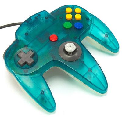 Nintendo 64 [N64] Controller Aqua Blue