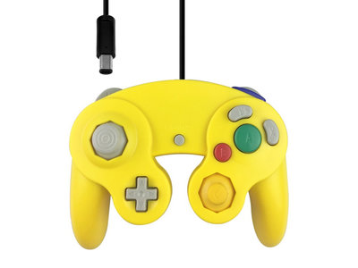 New GameCube Controller Yellow