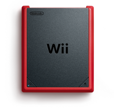 Nintendo Wii Console Mini Red