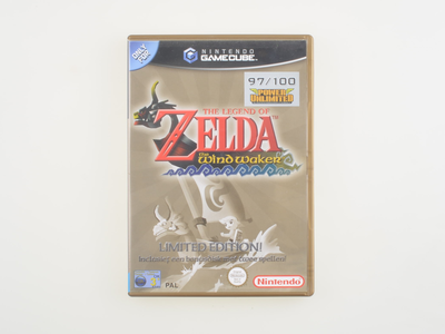 The Legend of Zelda The Windwaker Limited Edition (Gold Box)