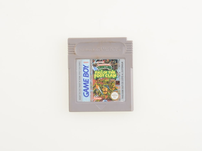 Turtles Fall of the Foot Clan - Gameboy Classic - Outlet