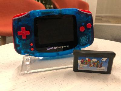 Gameboy Advance Limited Mario Edition + Super Mario Advance