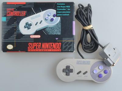 Originele Super Nintendo [SNES] Controller [Complete] [NTSC]