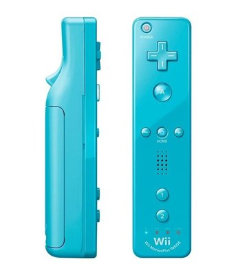 Original Wii Motion Plus Controller Blue