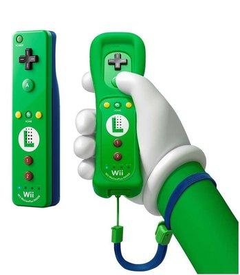 Nintendo Wii Remote Controller Motion Plus Luigi Edition