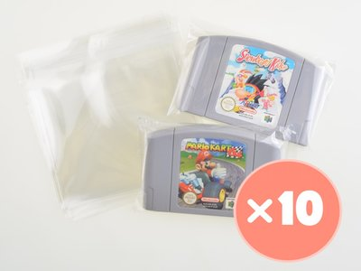 10x Nintendo 64 Cart Bag