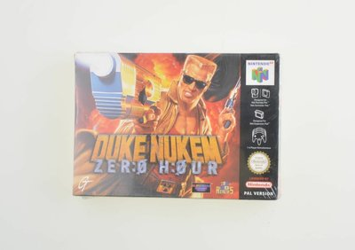 Duke Nukem Zero Hour (Sealed)