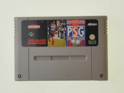 Champions World Class Soccer PSG - Super Nintendo - Outlet