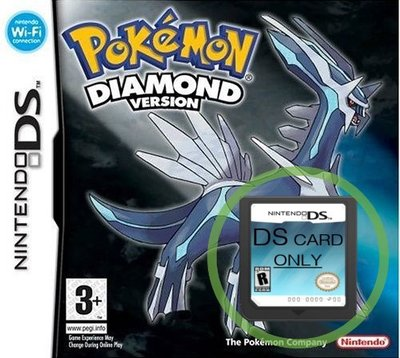 Pokemon Diamond  -  game cartridge only
