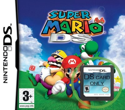 Super Mario 64 DS  -  game cartridge only