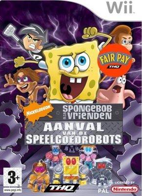 Spongebob en Zijn Vrienden: Aanval van de Speelgoed Robots