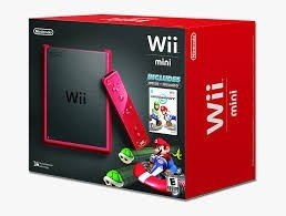 Nintendo Wii Console Mini Red Mario Kart Edition [Complete]
