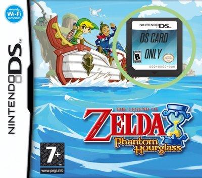 The Legend of Zelda - Phantom Hourglass - Cart Only