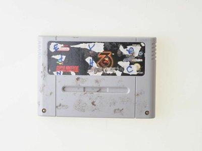 Mortal Kombat 3 - Super Nintendo - Outlet