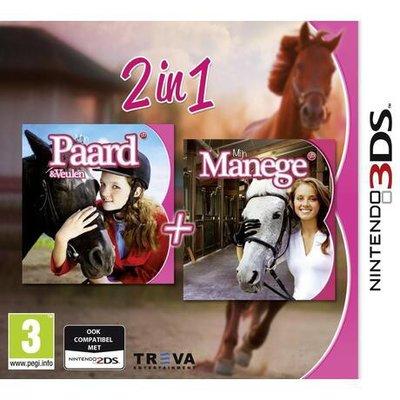 2 in 1: Mijn Paard & Veulen + Mijn Manege