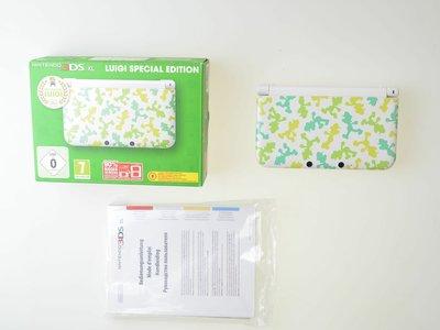 Nintendo 3DS XL Luigi Edition [Complete]