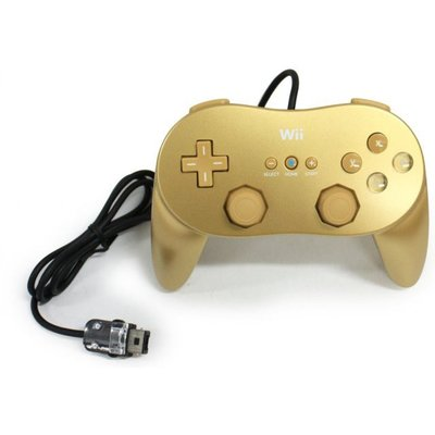 Wii Controller Gold
