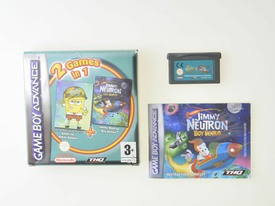Spongebob Battle for Bikini Bottom + Jimmy Neutron Boy Genius