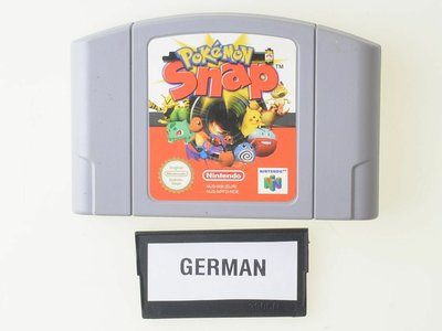 Pokemon Snap German