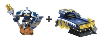 Skylanders Superchargers: High Volt + Shield Striker Bundel