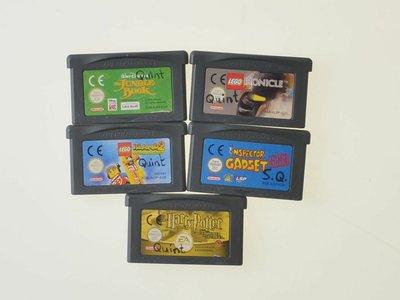 5 games bundel gba
