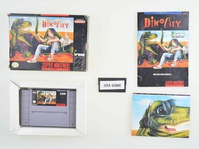 Dino City [Complete] - NTSC