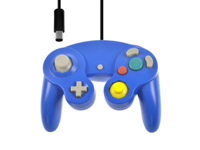 New GameCube Controller Blue