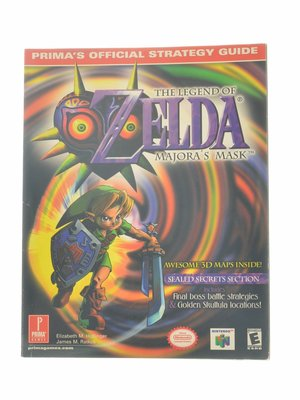 The Legend of Zelda Majora's Mask Strategy Guide