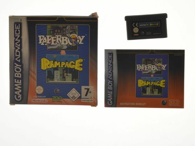 PaperBoy / Rampage (Complete)