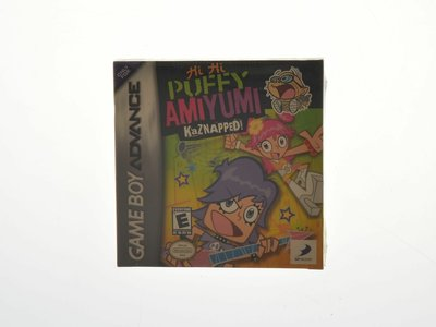 Puffy Ami Yumi: Kaznapped! (Complete) (Sealed)