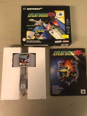 Lylatwars (Starfox) Complete Big Box