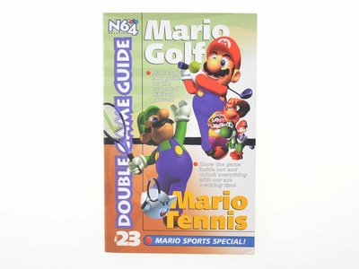 N64 Magazine: Mario Golf - Double Game Guide vol. 23